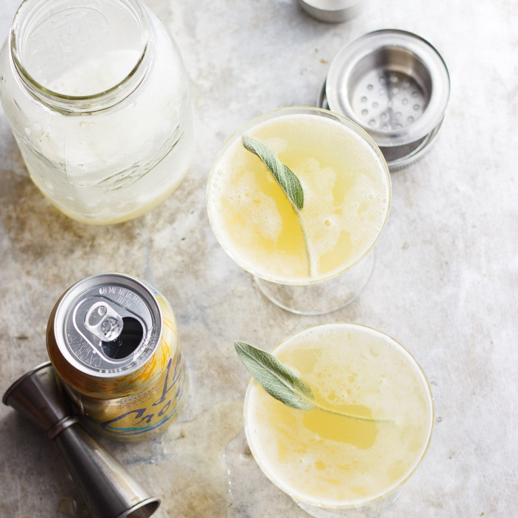 DRINK UP: Pineapple Sage Shrub