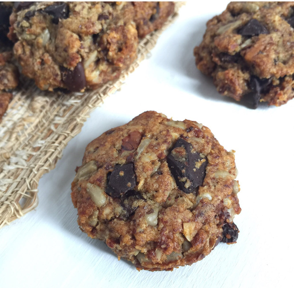 MEATLESS MONDAY: Date-Sweetened Trail Mix Cookies with Cherries and Pecans