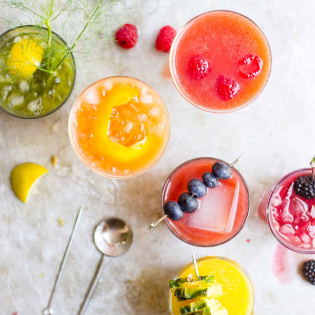 DRINK UP: Sippin' on Gin and (Organic, Cold-Pressed) Juice
