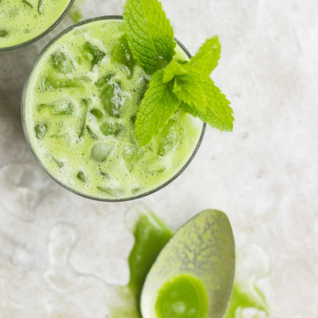 DRINK UP: Coconut Green Drink with Pineapple and Mint