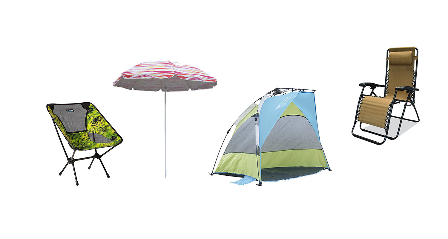 Coolest Lounge Chairs And Umbrellas For The Beach