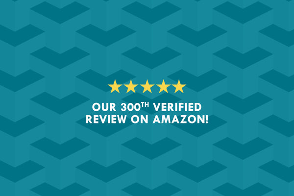 Our Portable Safe's 300th Verified Amazon Review!