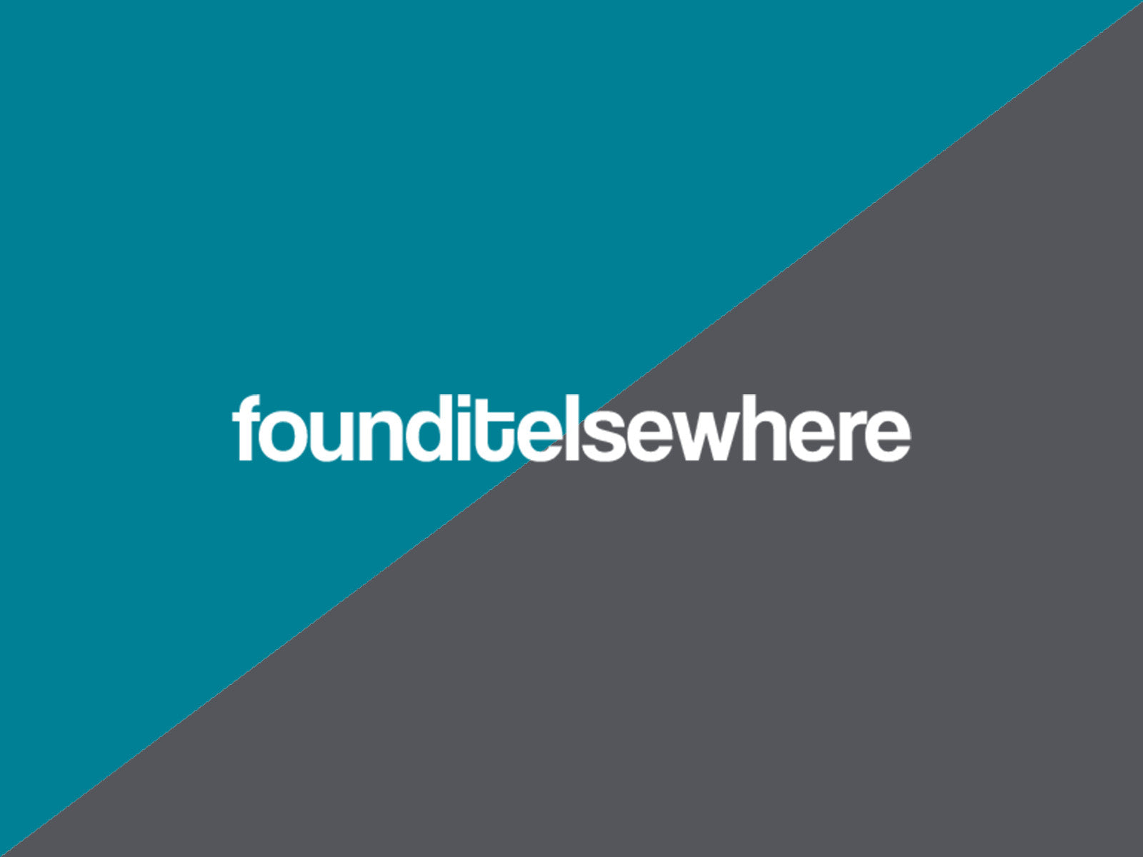 founditelsewhere