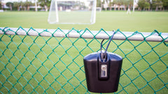 outdoor safe attaches to fences
