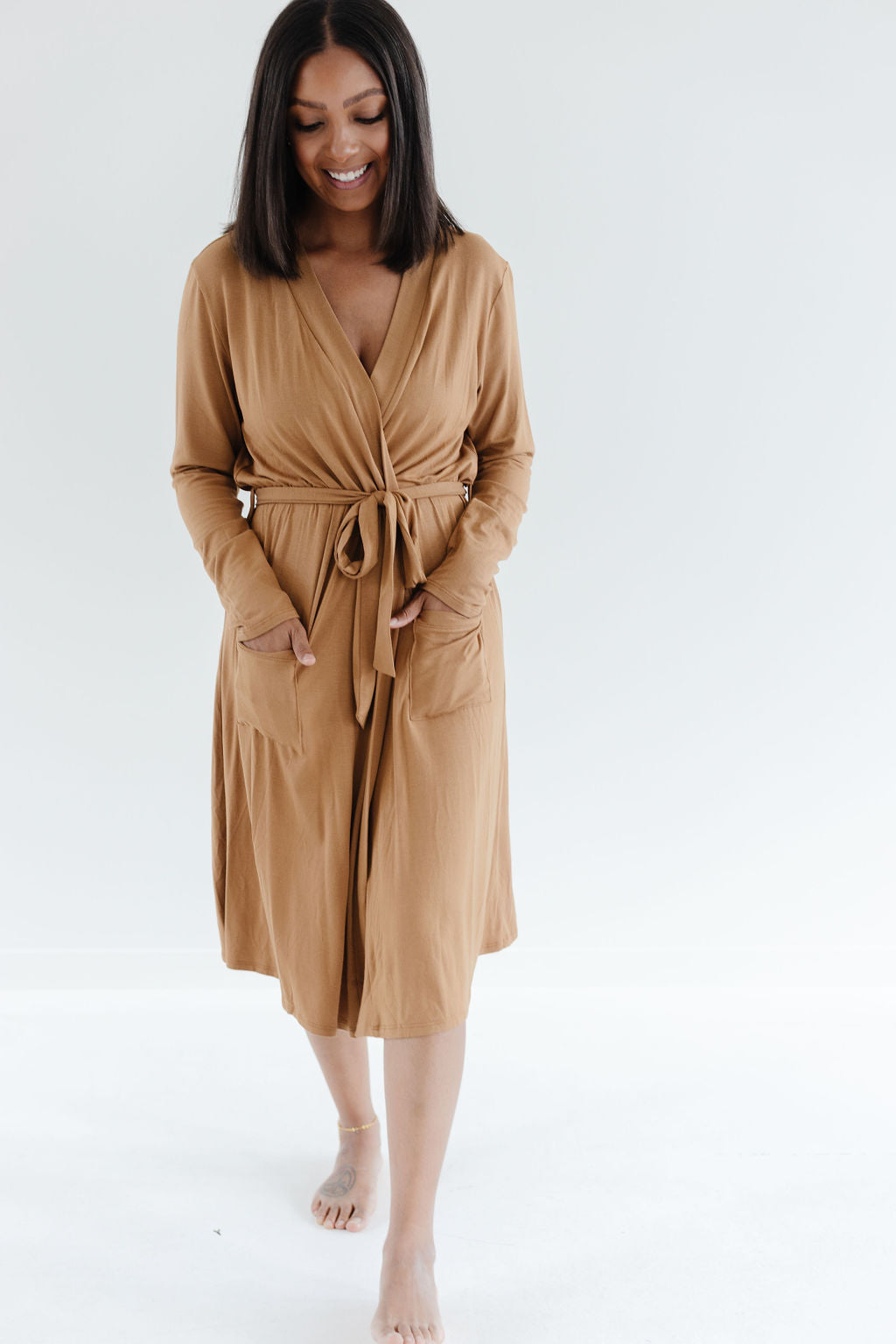 Robe in Camel