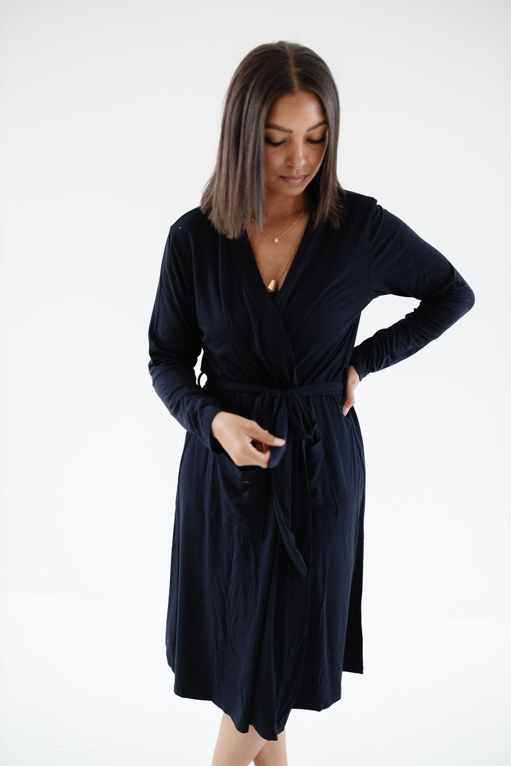 Robe in Black