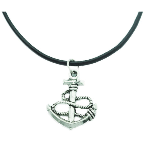 Anchor Charm Choker