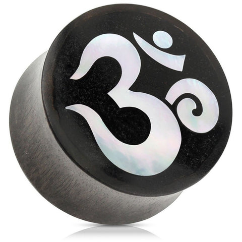 Organic Om Pearl Inlay Plugs