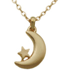 Gold Moon Necklace