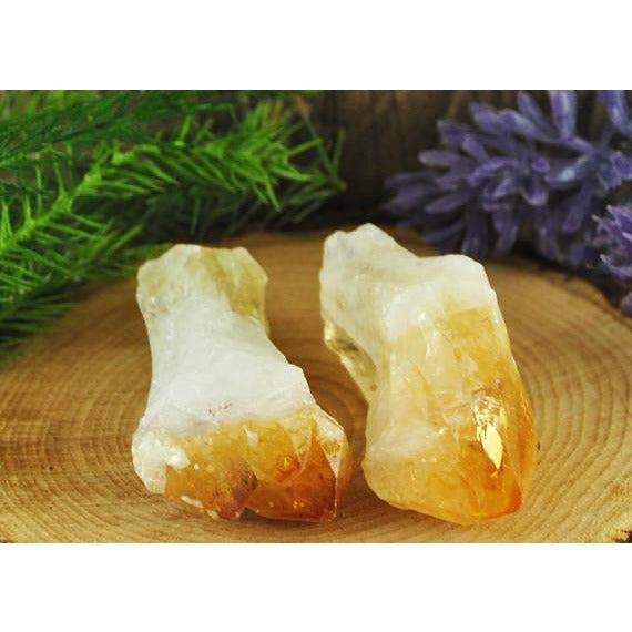 Citrine Crystal Point from Madagascar