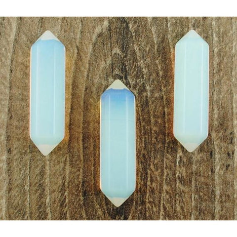 Double Terminated Opalite Crystal Point
