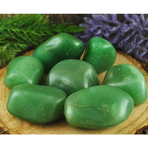 Green Aventurine Tumbled Stone from India