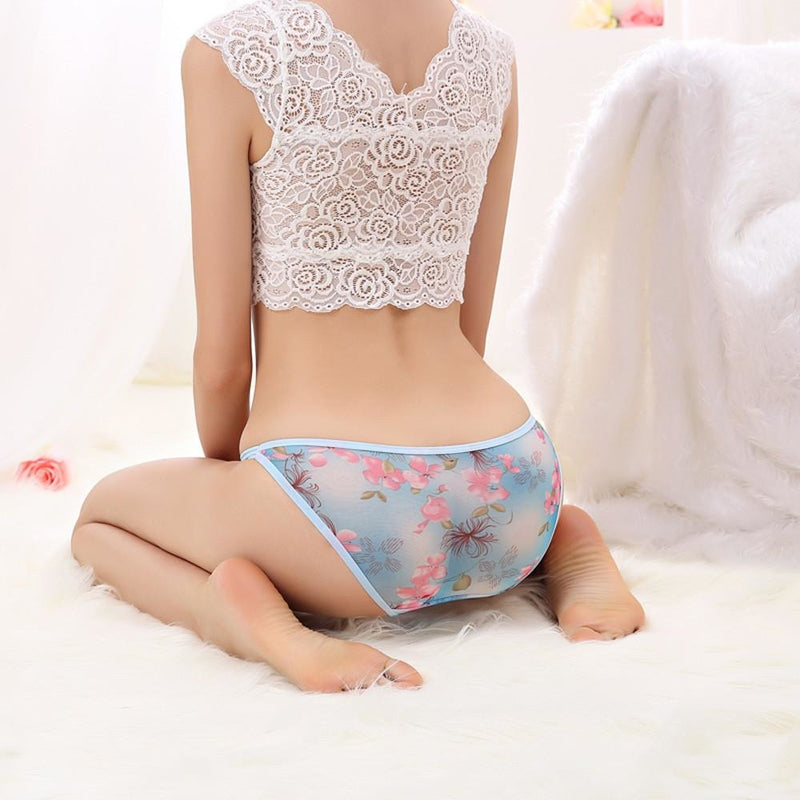 Floral Lace Panties (7 colors)