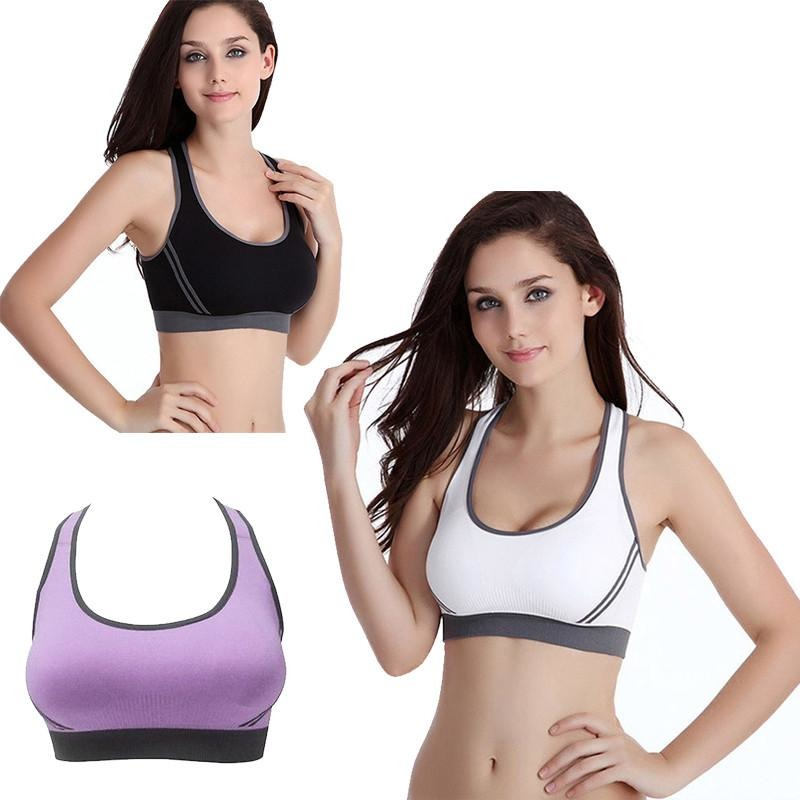 Padded Crossback Yoga Sports Bra