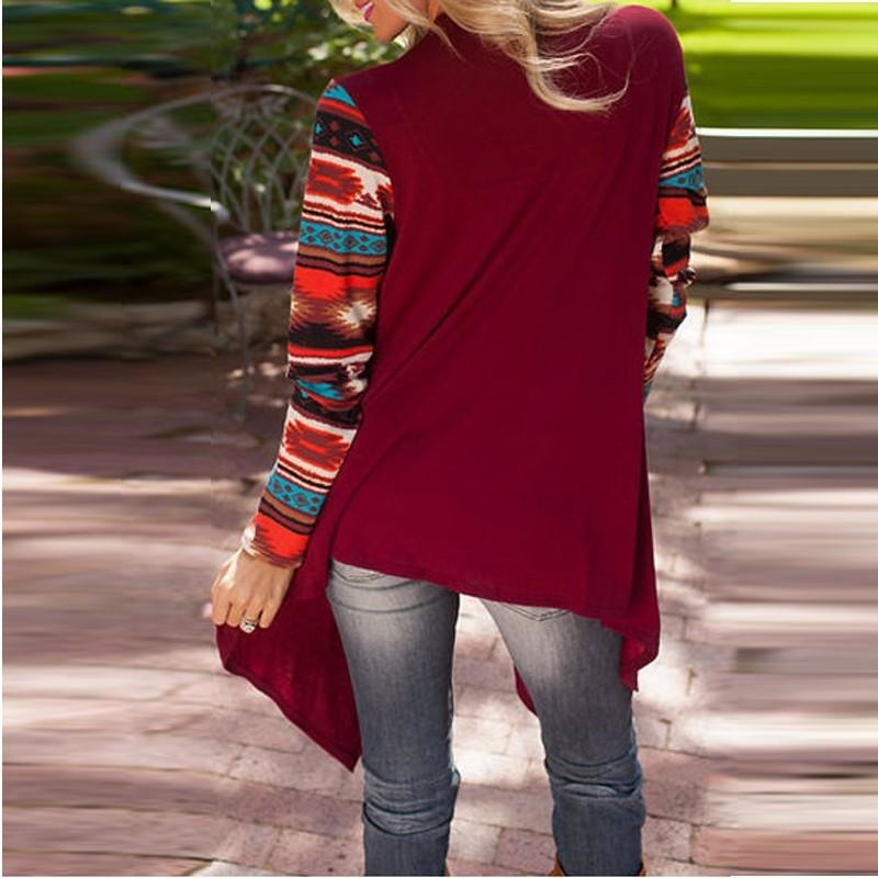 Boho Casual Long Sleeve Cardigan