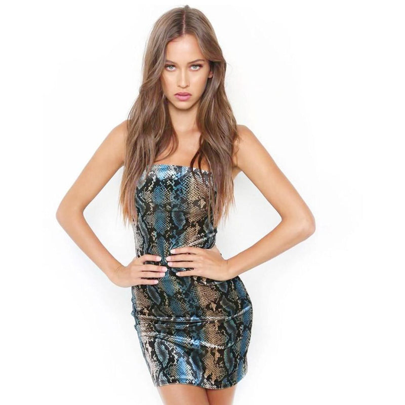 Women's Psychedelic Bodycon Sleeveless Dress