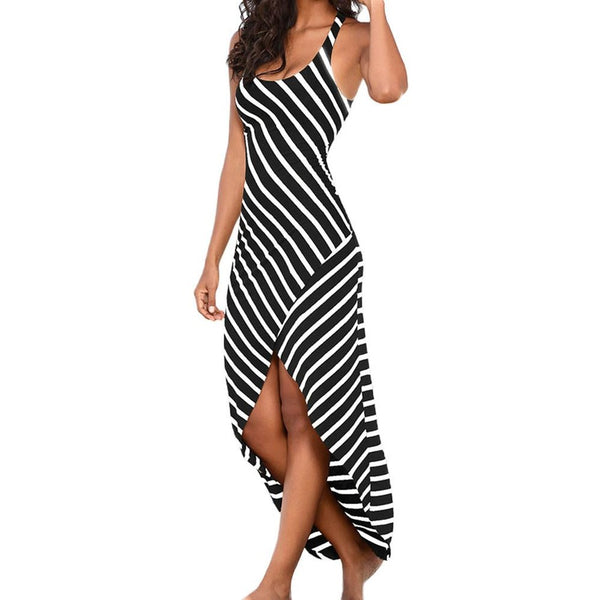 Women Casual Striped Sundress
