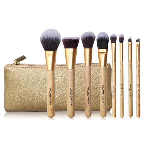 Magic Makeup Brush Set with Bag