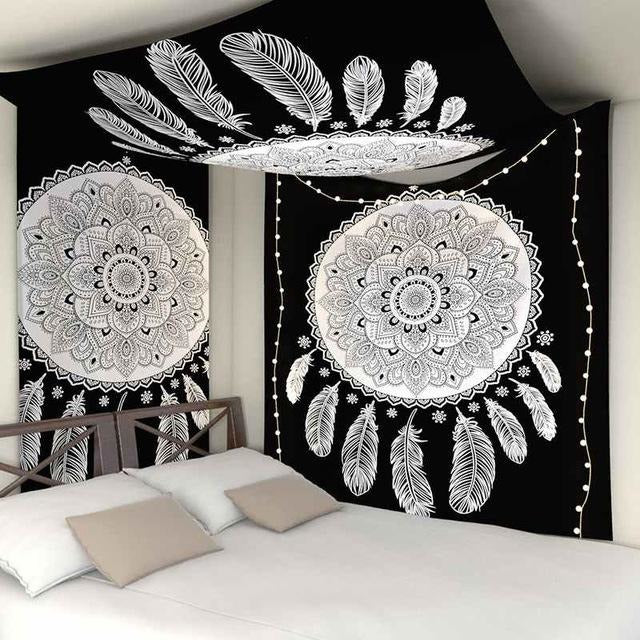 Mandala Dream Catcher Tapestry