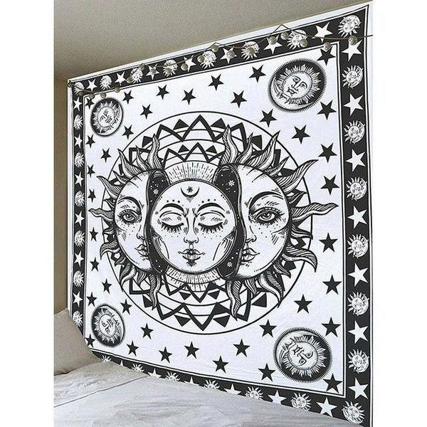Psychedelic Sun Tapestry