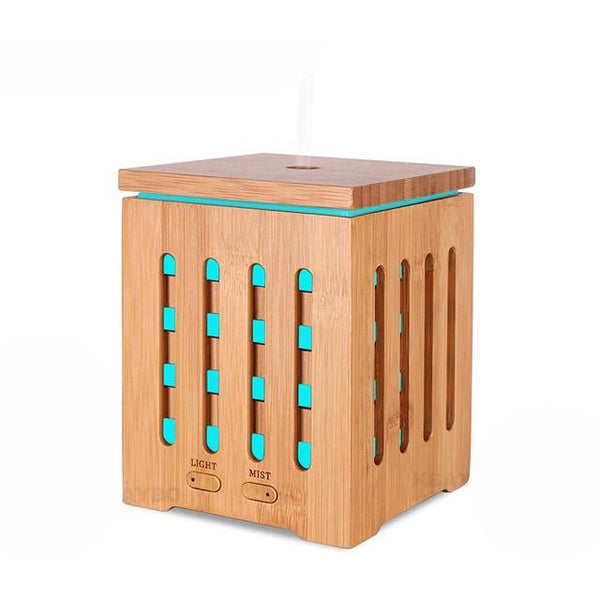 200ml 7 LED Ultrasonic Aromatherapy Essential Oil Diffuser