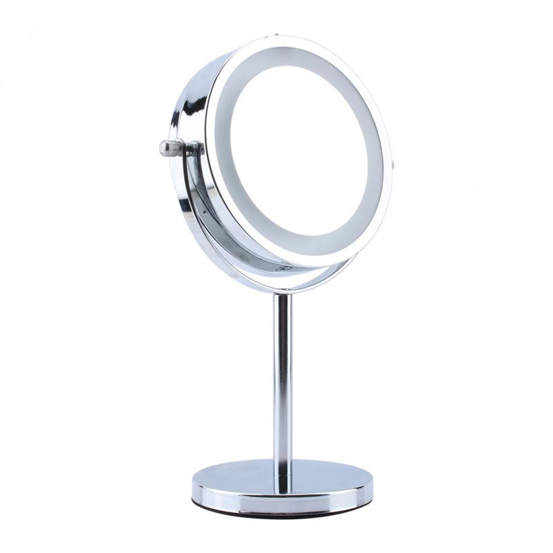Round LED Makeup Mirror