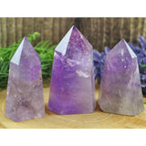 Amethyst Crystal Healing Tower
