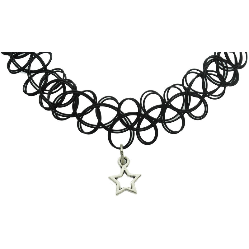 Star Charm Tattoo Choker