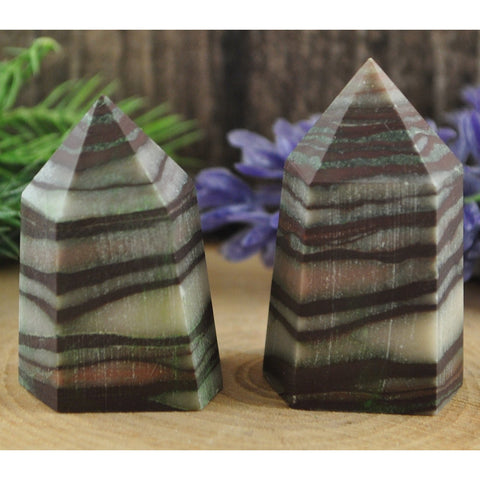 Jasper Crystal Healing Tower