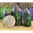 Ruby in Fuchsite Crystal Healing Tower