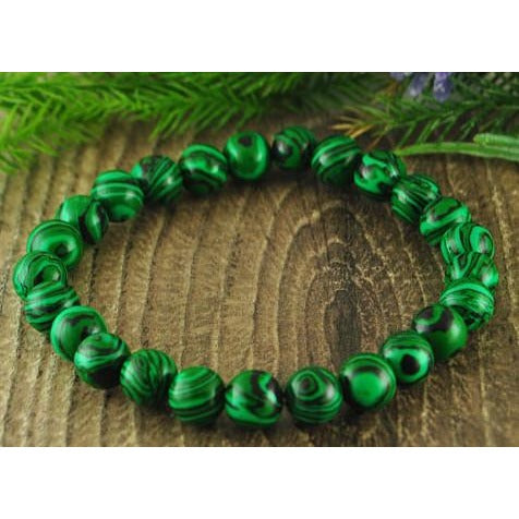 Malachite Crystal Bracelet