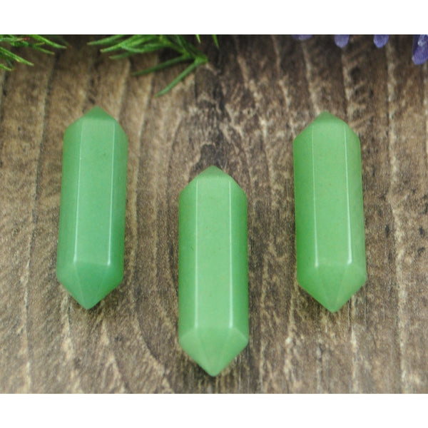 Double Terminated Aventurine Crystal Point