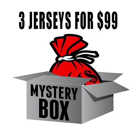 Mystery Box of 3 Jerseys for $99