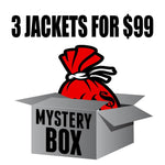Mystery Box of 3 Jackets for $99