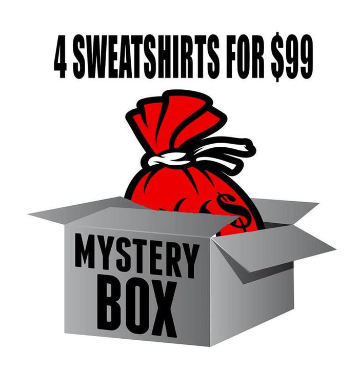 Mystery Box of 4 Sweatshirts for $99 - Million Dolla Motive