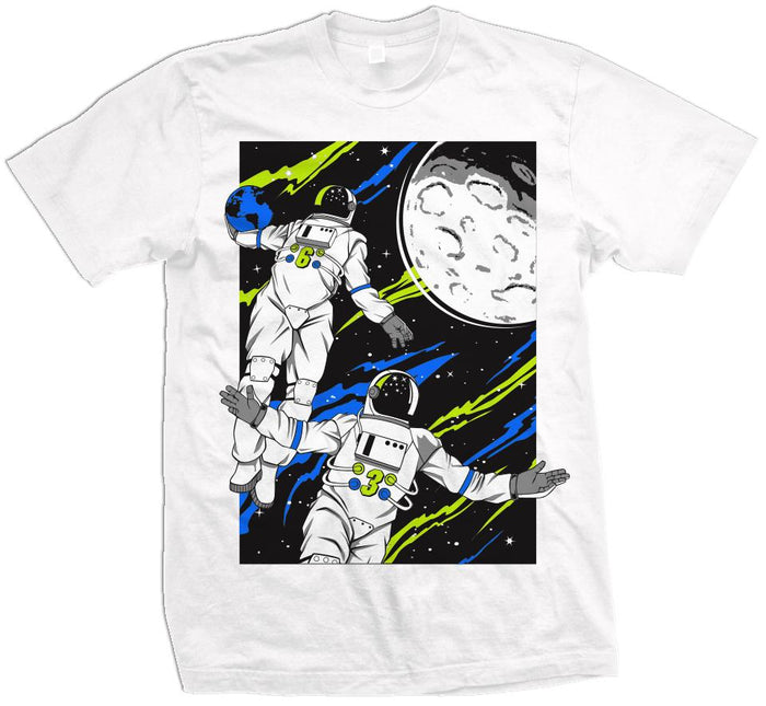 Astro Alley Oop - White T-Shirt