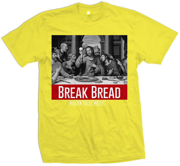 Break Bread - Optic Yellow T-Shirt