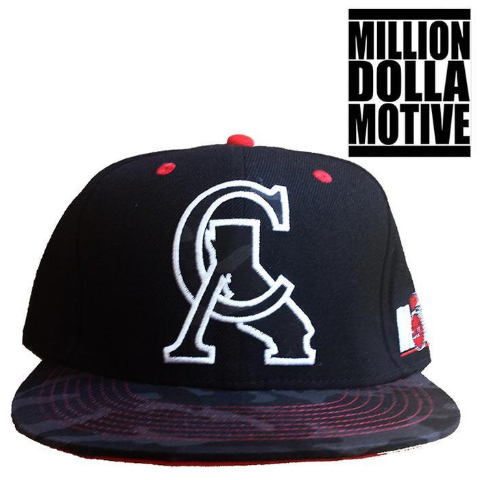 CA Urban Camo Snapback Cap - Million Dolla Motive