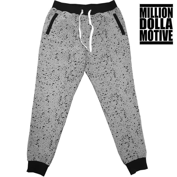 Cement Grey Joggers - Million Dolla Motive