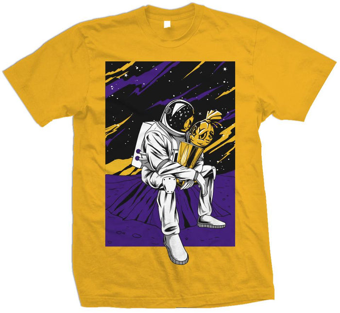 Champion In The Stars - Golden Yellow T-Shirt