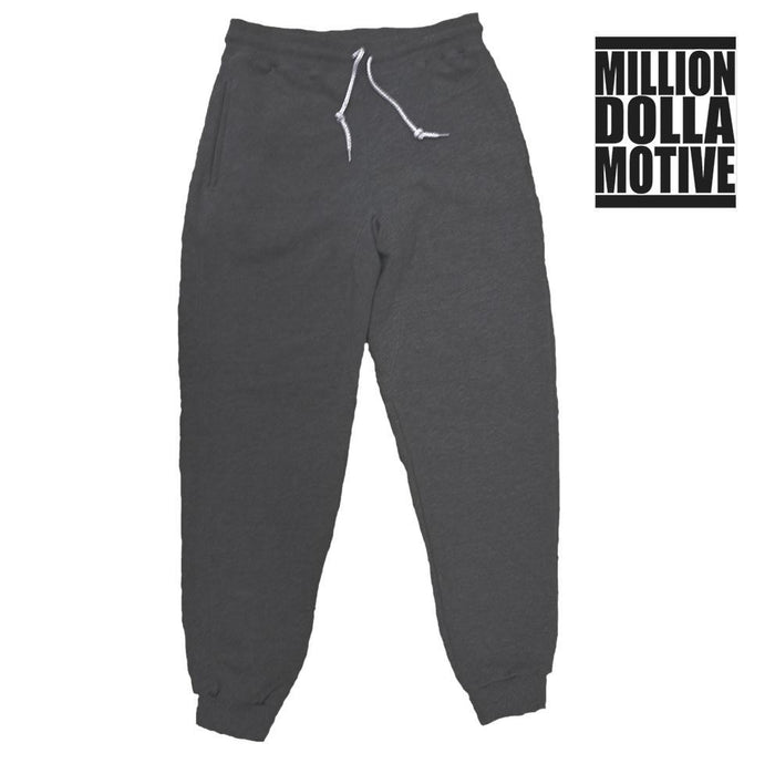 Charcoal Terry Joggers - Million Dolla Motive