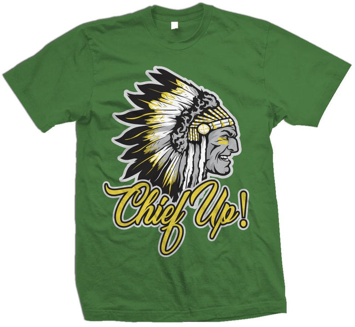 Chief Up - Pine Green T-Shirt