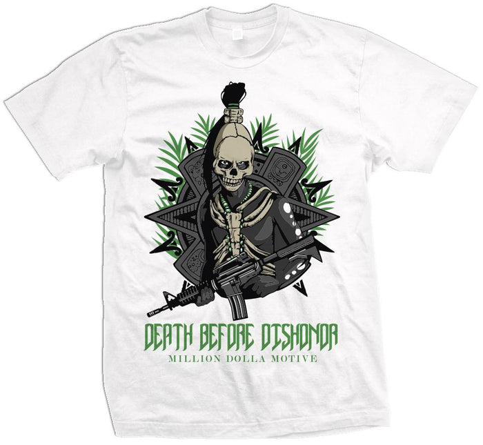 Death Before Dishonor Mayan - White T-Shirt