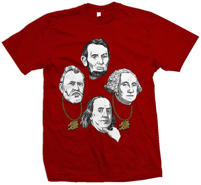 Faces of Money - Red T-Shirt