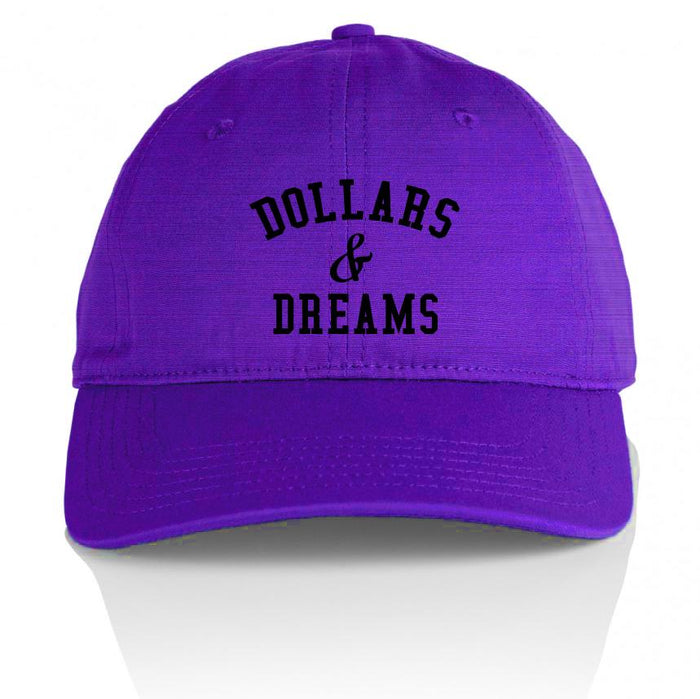 Dollars & Dreams - Purple Dad Hat