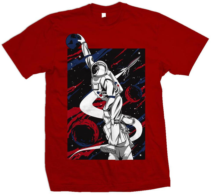 Earth Dunk - Red T-Shirt