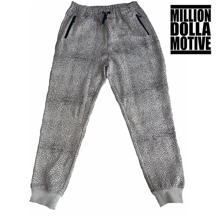 Elephant Print Joggers w/ Black - Million Dolla Motive