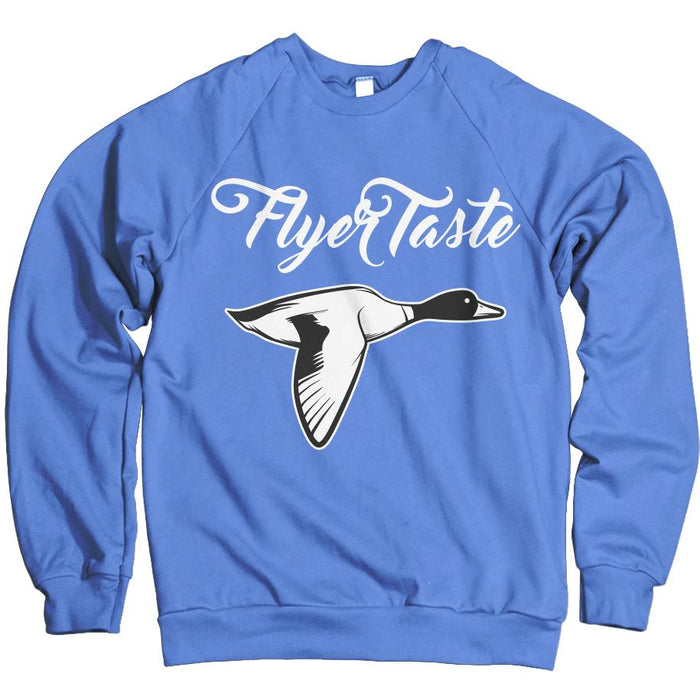 Flyer Taste - University Blue Crewneck Sweatshirt - Million Dolla Motive