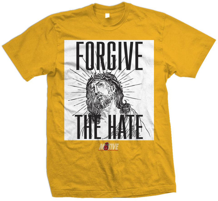 Forgive The Hate - Golden Yellow T-Shirt