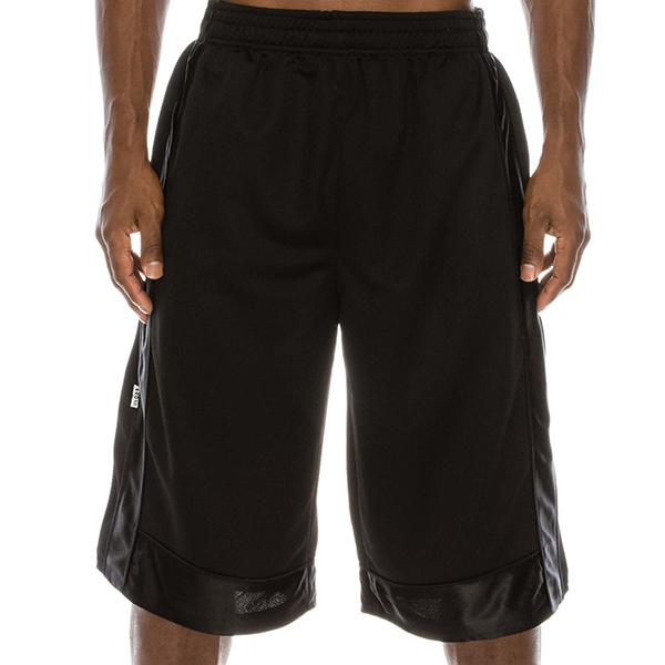 Heavyweight Mesh Shorts - Black - Million Dolla Motive